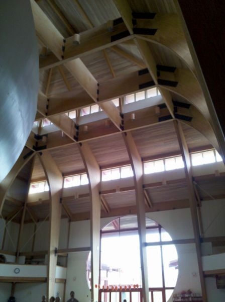 Meadowlands Of Carmel >> Great Buddha Hall :: Unalam   Custom Glulam Construction And Wood Manufacturing Leader For Over ...